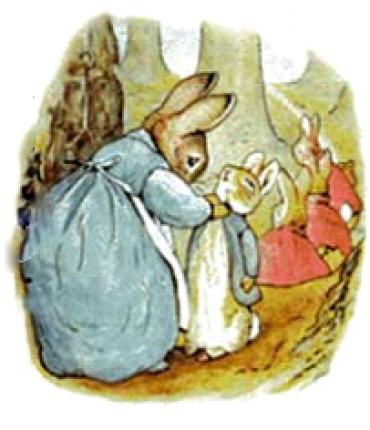 چهار خرگوش کوچولو