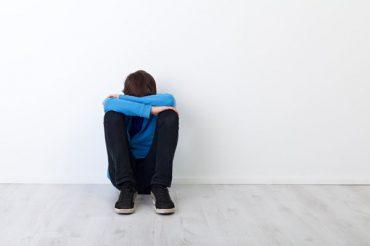 نوجوان افسرده