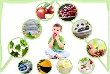 رژیم غذایی مناسب وزن کودک