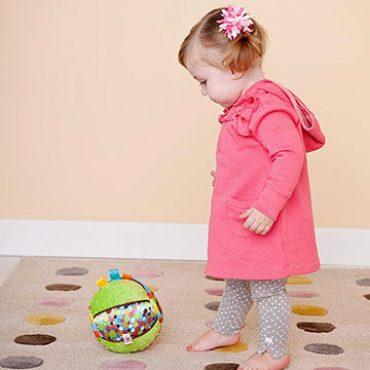 رشد جسمی کودک، یک تا دو سالگی