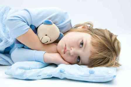 مشکلات خوابیدن در کودکان