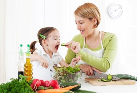 کودک و تغذیهی سالم