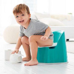 آموزش توالت رفتن به کودک توالت فرنگی
