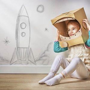 روانشناسی کودکان خلاق - روانشناسی کودک خلاق خانه