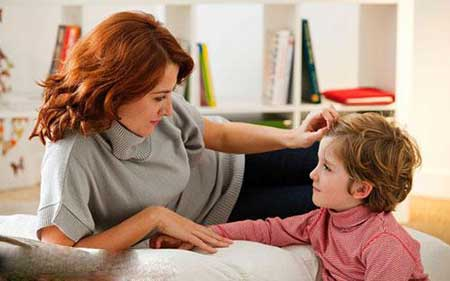 پیام ها ی مهم والدین برای کودک