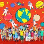 یک بازی تخیلی؛ مسافرت تخیلی، کودک سه تا هفت سال