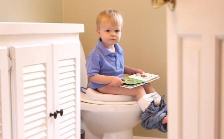 آموزش توالت رفتن به كودكان
