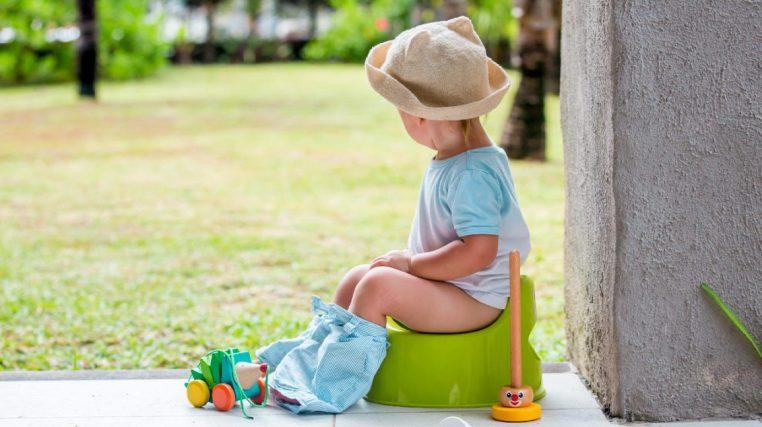 آموزش توالت رفتن به کودک