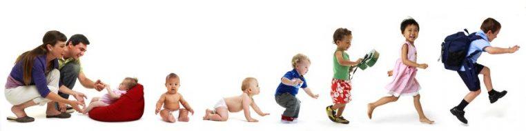 خصوصیات و ویژگی های رشدی کودکان تا سه سالگی
