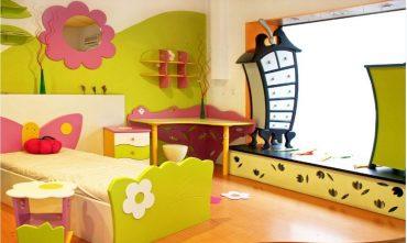 روان شناسی و رنگ اتاق کودک